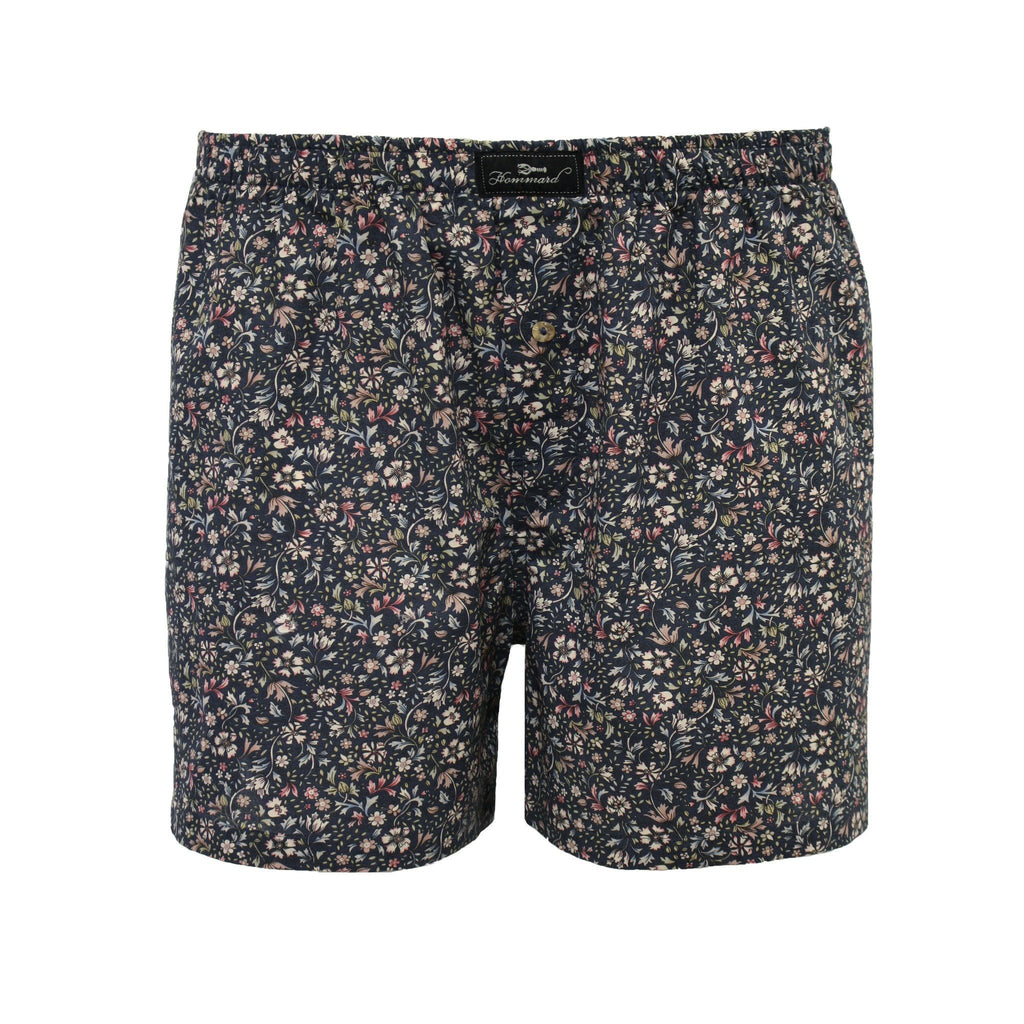 Liberty Flower Men´s Woven Cotton Boxer Shorts - Hommard