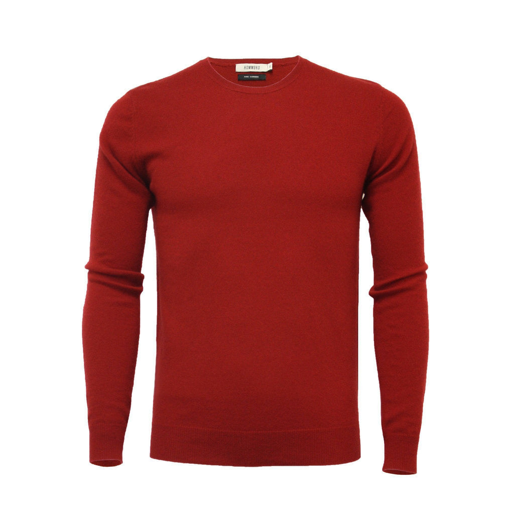 Men´s Cashmere Crew Neck Sweater - Hommard