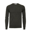 Charcoal Men´s Cashmere Crew Neck Sweater - Hommard
