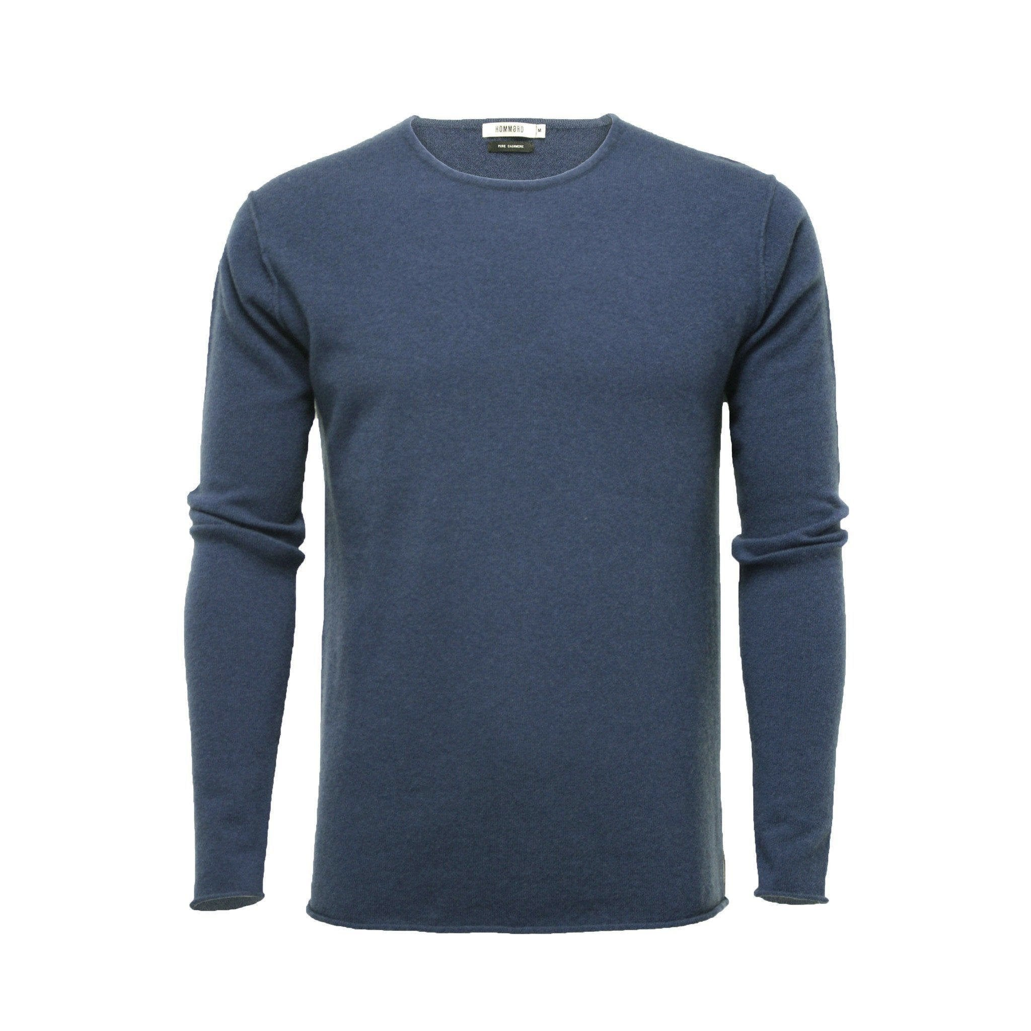 Men´s Cashmere Crew Neck Sweater Ripley Jeans Blue