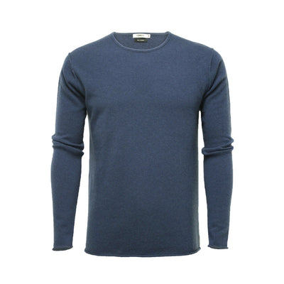 Hunting Green Men´s Cashmere Crew Neck Sweater Ripley - Hommard