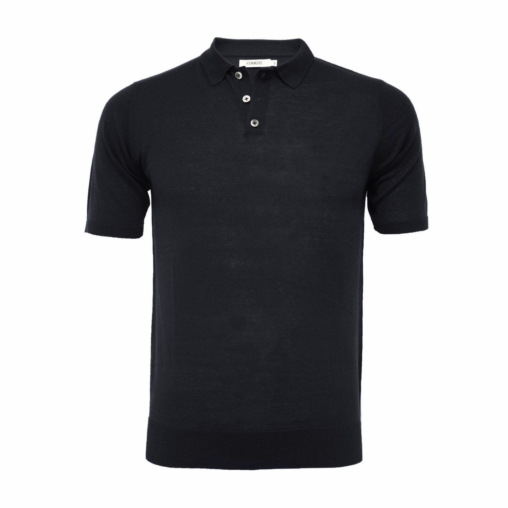 Men´s Silk Polo Shirt 3 Buttons - Hommard