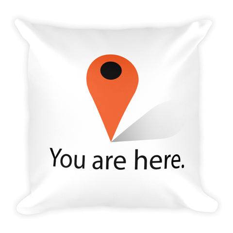 You are here Square Pillow