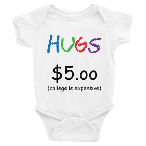 HUGS for College one-piece