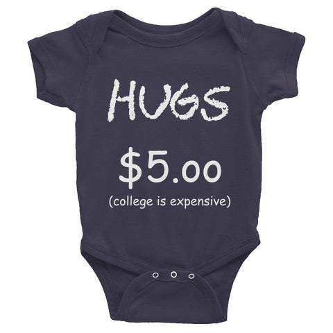 HUGS for College Dark one-piece
