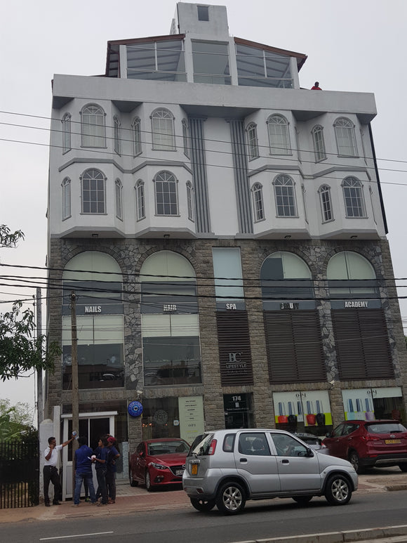 Electrical Installation at a 5 storied Commercial Building at  Mt. Lavinia