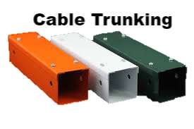 Magline - Steel Cable Trunking - Powder Coated