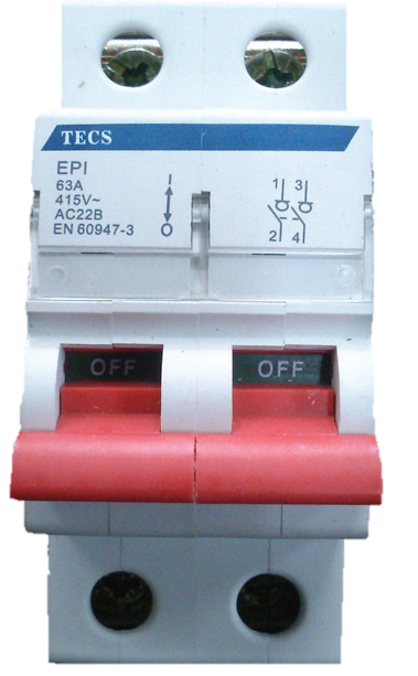 TECS - Isolator - MCB Type