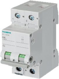 Siemens - Isolators - 5TL1 Series - MCB Type