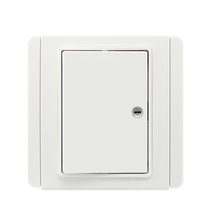 Schneider - E 3000 Series - White - Switches & Sockets - Horizontal With White Led Indicator
