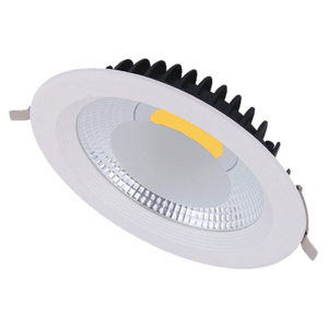 2019 New Style Dimmable Led Downlight Light Cob Ceiling Spot Light 7w 10w 85-265v Ceiling Recessed Lights Indoor Lighting White Black Silver Ceiling Lights