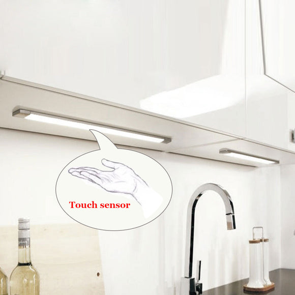Tanbaby 5W Touch Sensor LED Cabinet light with Power adapter Dimmable Tube lamp SMD 2835 high brightness for cabinet,kitchen