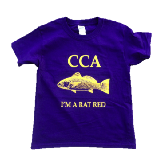 Youth CCA Rat Red T-Shirt