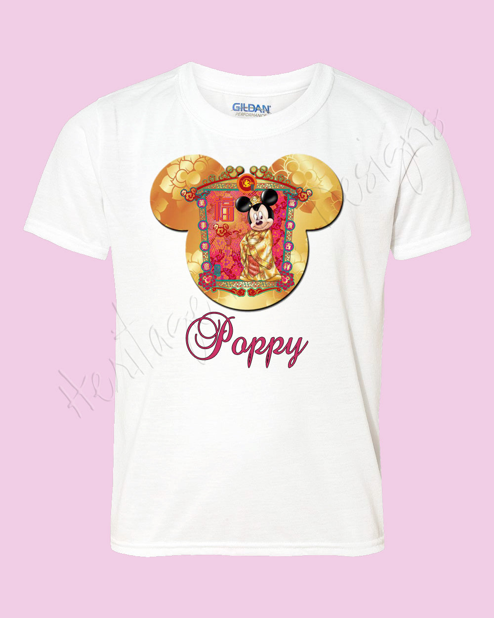 Personalized Hong Kong Disney mouse ears Icon Cherry Blossom Disney shirt - FREE personalization!