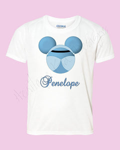 Personalized Cinderella Disney mouse ears Icon Disney shirt - FREE personalization!