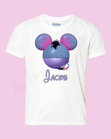 Personalized EEYORE Disney mouse ears Icon Disney shirt - FREE personalization!