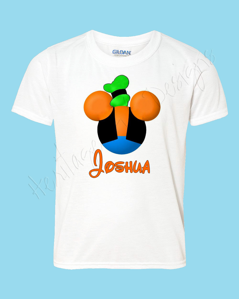 Personalized GOOFY Disney mouse ears Icon Disney shirt - FREE personalization!