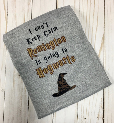 Harry Potter shirt - Personalized Hogwarts shirt sorting hat shirt