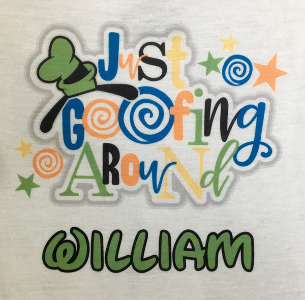 Personalized Goofy Disney t-shirt Icon