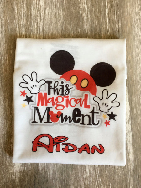 Personalized Mickey Mouse shirt Icon