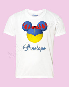 Personalized Minnie Snow White Disney mouse ears Icon Disney shirt - FREE personalization!