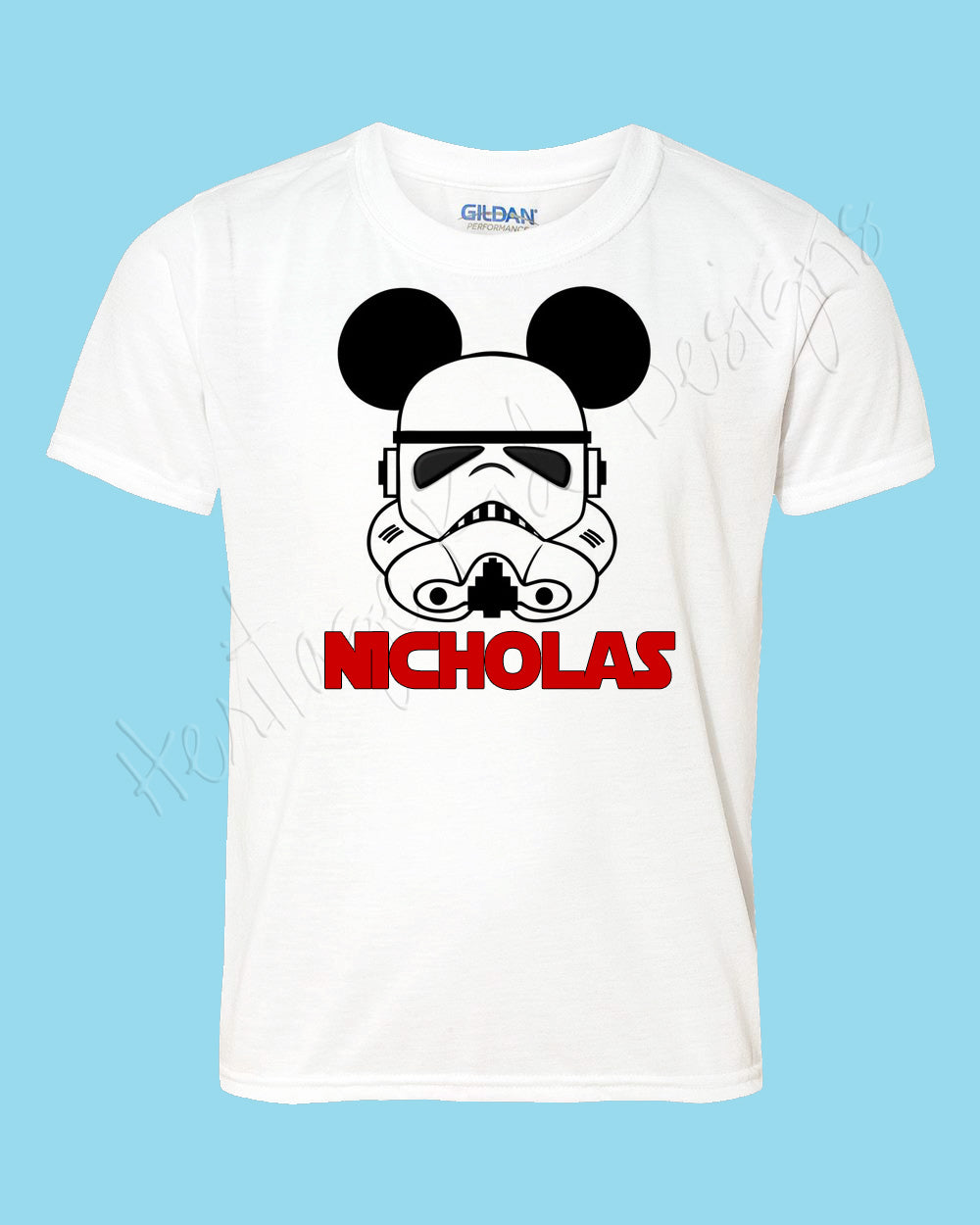 Personalized Mickey Star Wars Storm Trooper Disney mouse ears Icon Disney shirt - FREE personalization!