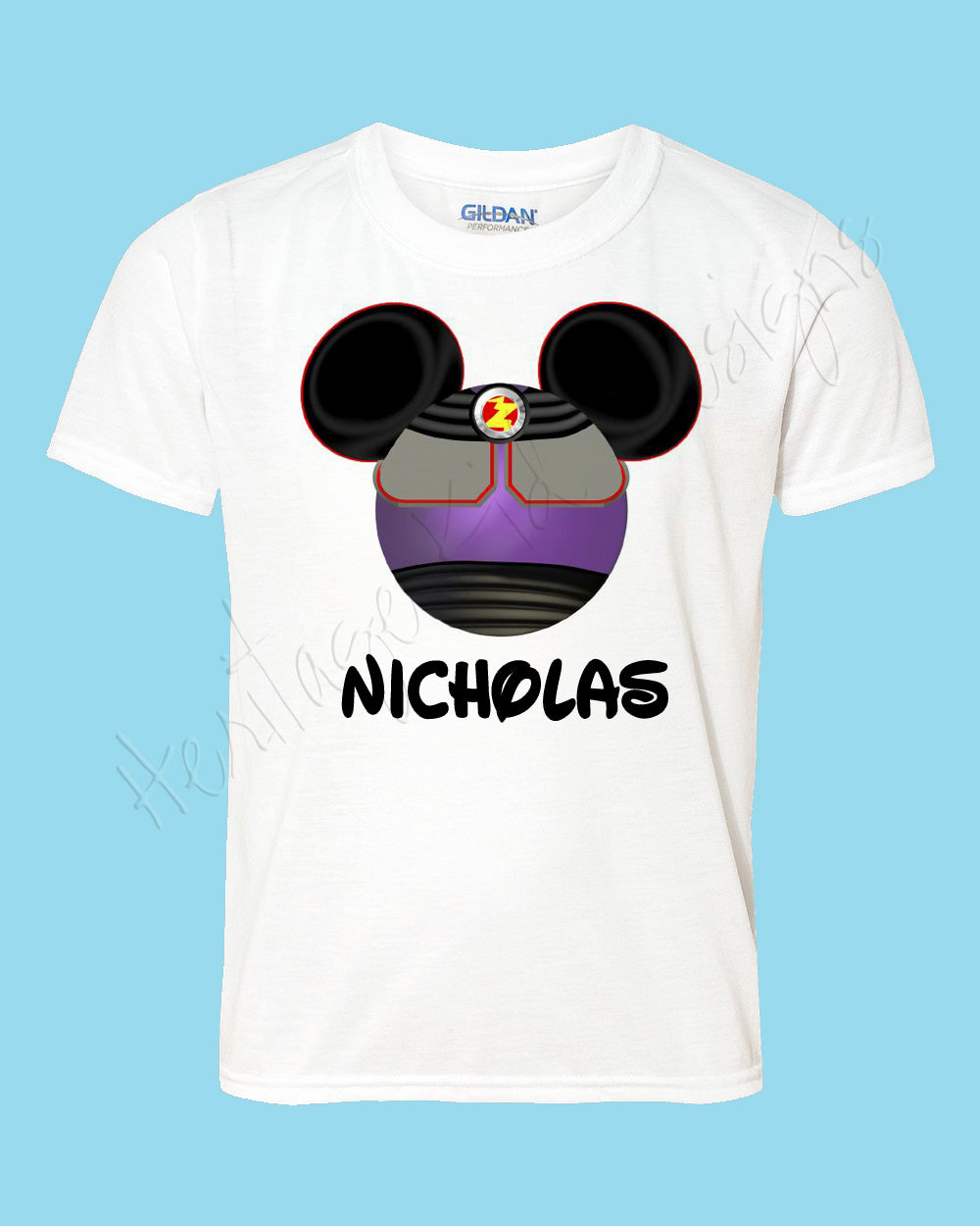 Personalized Mickey Zorg toy story Disney mouse ears Icon Disney shirt - FREE personalization!