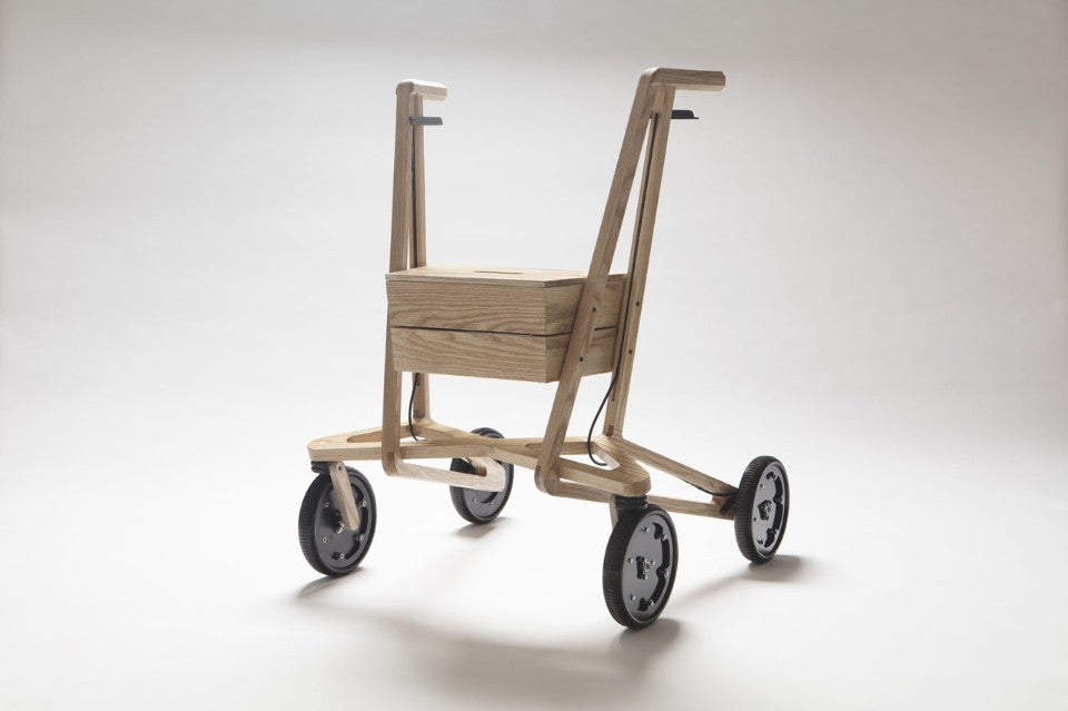 Paul Timmer Wood Rollator
