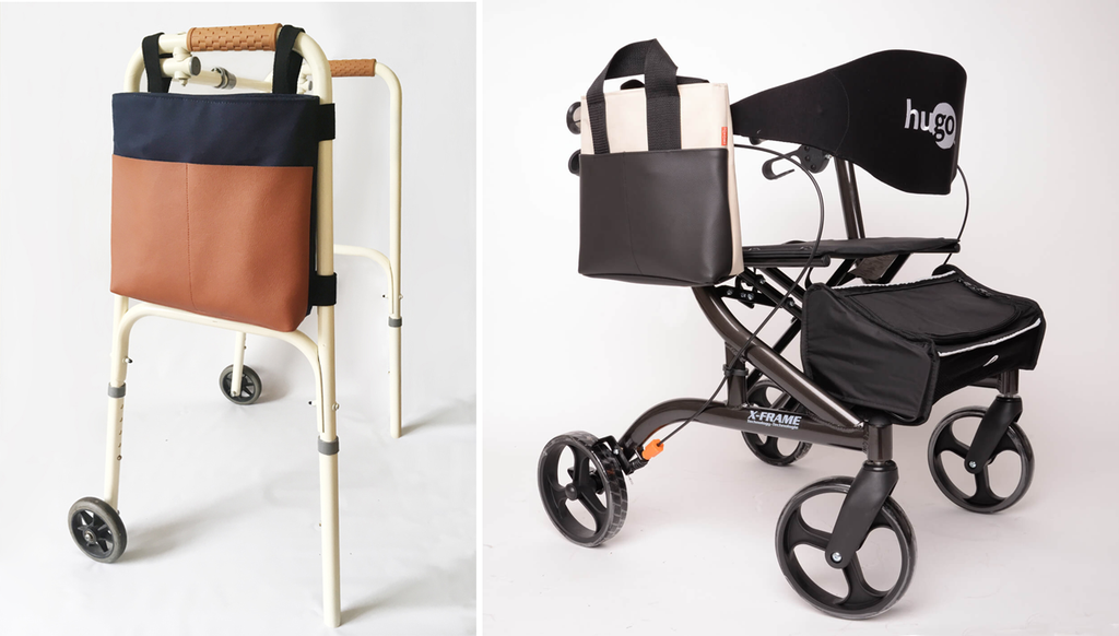 Stylish walker rollator tote bags Tonomy Shop