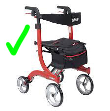 tonomy shop rollator accessories