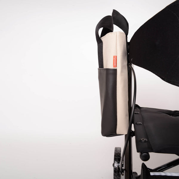 sophisticated rollator tote bag