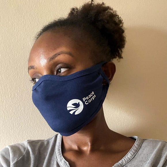 Peace Corps Logo Mask