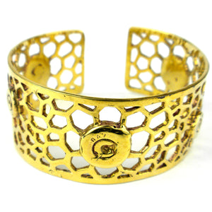 Bomb Casing Beehive Cuff - The National Peace Corps Association