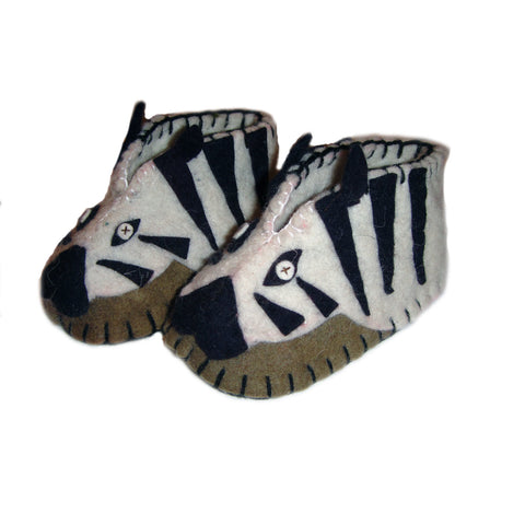 Zebra Zooties Baby Booties - The National Peace Corps Association
