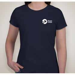 Peace Corps Women's Navy Tee