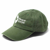 World Traveler - Peace Corps Hat - Army Green - The National Peace Corps Association