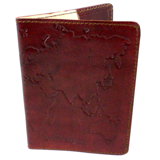 Leather World Passport Cover