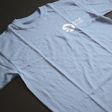 Peace Corps Unisex Tee in Light Blue - The National Peace Corps Association