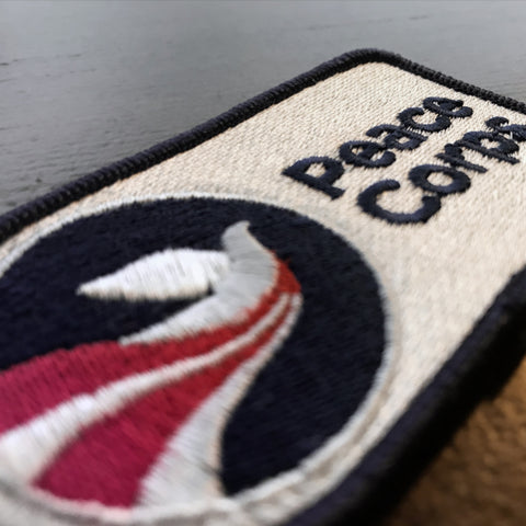 Embroidered Peace Corps Patches - Shipping Included - The National Peace Corps Association