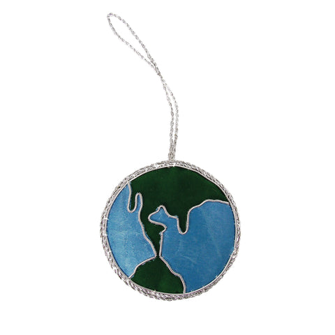 Globe Holiday Ornament - The National Peace Corps Association