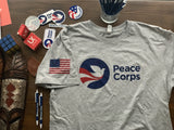 Peace Corps T-shirt | Limited Edition | Unisex | Super Soft | Grey - The National Peace Corps Association