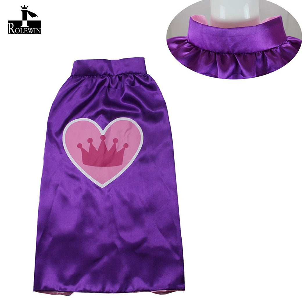 iROLEWIN Dressing-up Costume Capes and Masks for Superhero Birthday ...