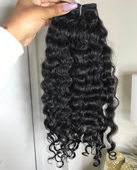 "NATURAL INDIAN ""Super Curly"" RAW"