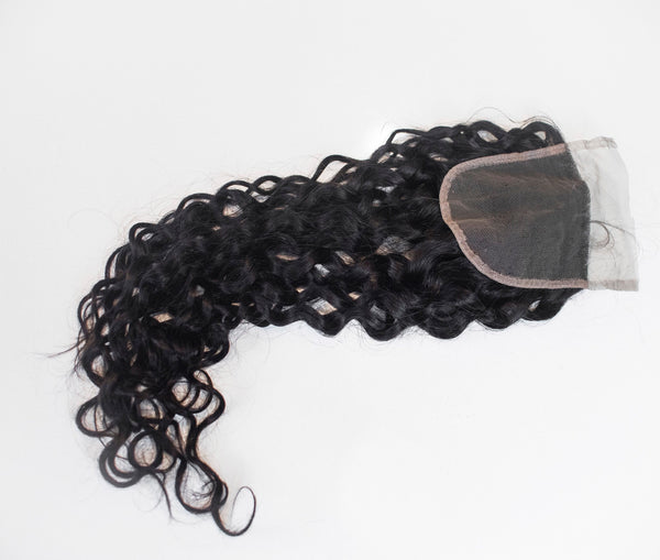 Virgin Arabian Queen Curl Closure