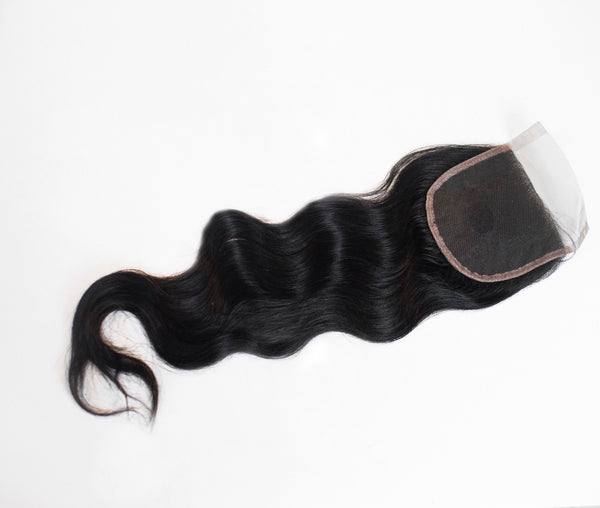 Virgin Loose Body Wave Lace Closure