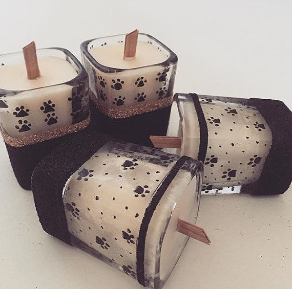 Dual Votive Candle - French Pear