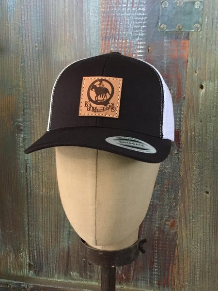 KJ Murphy's Trucker Hat - Black and White