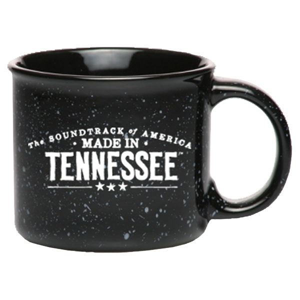 The Soundtrack of America Made in Tennessee Campfire Coffee Mug - Black