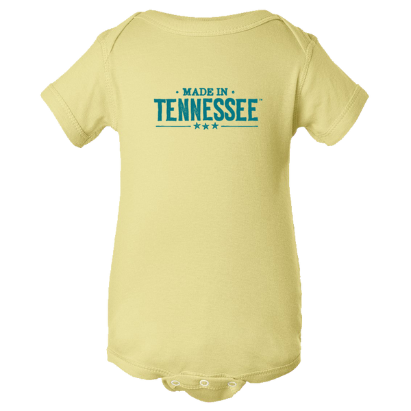 Made in Tennessee Onesie - Banana Yellow