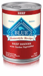 Blue Buffalo - Homestyle Beef Canned Dog Food (12 pk)